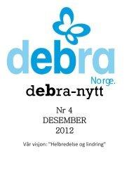 Nr 4 DESEMBER 2012 - Debra Norge