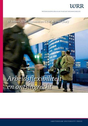 Arbeidsflexibiliteit en ontslagrecht - Wetenschappelijke Raad voor ...