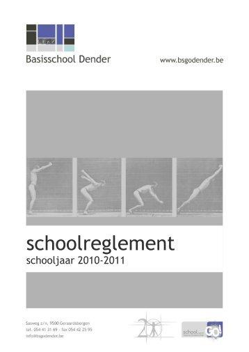 schoolreglement - BSGO Dender