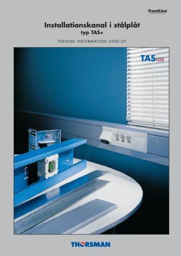 Installationskanal, TAS+ - Schneider Electric