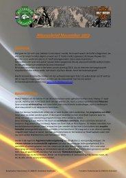Nieuwsbrief November 2012 - Rotterdam Chapter