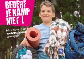 bederf je zomerkamp niet - Op kamp