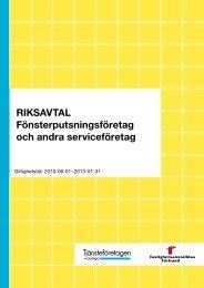 Almega Fonsterputs - Fastighetsanställdas Förbund
