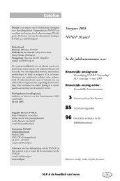 INzicht Nr 24, Jaargang 7, nummer 1 - Nederlandse Vereniging voor ...