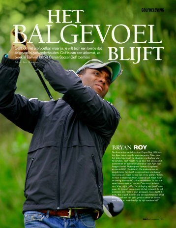 Golfende profvoetballers - Bert Tielemans