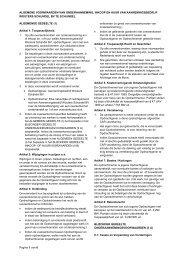 Algemene voorwaarden - Aannemingsbedrijf Wouters Schijndel B.V.