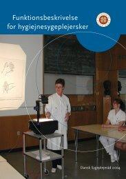 Funktionsbeskrivelse for hygiejnesygeplejersker - Job og ...