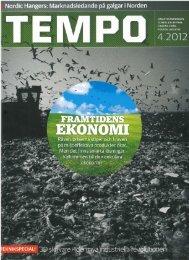 Artikel TEMPO 2012-4 Nordic Hangers Recycling