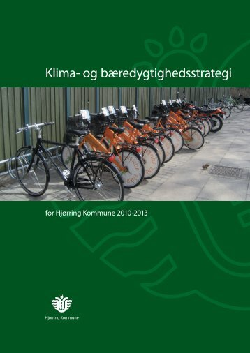 Klima- og bæredygtighedsstrategi - Hjørring Kommune