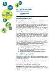 Billijke vergoeding informatie - FOS Open Scouting