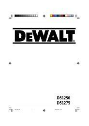 Φυλλάδιο οδηγιών - Service - DeWALT
