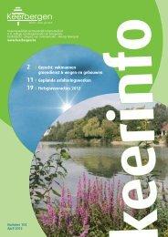 Keerinfo 2012/2 (april) - Gemeente Keerbergen