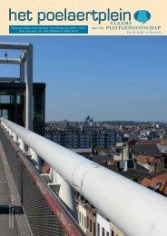 Poelaertplein n° 1 - 19e Jaargang - september 2012 - Vlaams ...