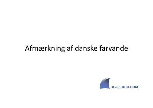 Afmærkning af danske farvande