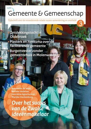 magazine 'Gemeente & Gemeenschap' - tijd voor samen
