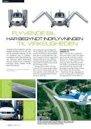 FLYVENDE BIL TIL VIRKELIGHEDEN - Morten Lund Madsen