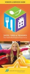 TASTES, TUNES & TREASURES - SnapPages