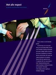 Brochure Regeling klachtenprocedure ongewenst gedrag en ...