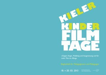 Begleitheft für Lehrer zum download - Kieler Kinderkulturbüro