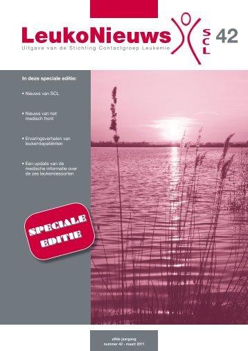 Leukemie - Stichting Contactgroep Leukemie - Nfk