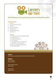 Handleiding voor het organiseren van humanistische filmavonden