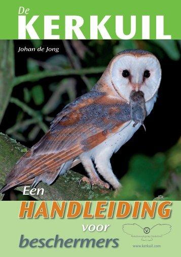 handleiding - Stichting Kerkuilen Werkgroep Nederland