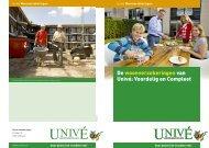 De woonverzekeringen van Univé: Voordelig en Compleet