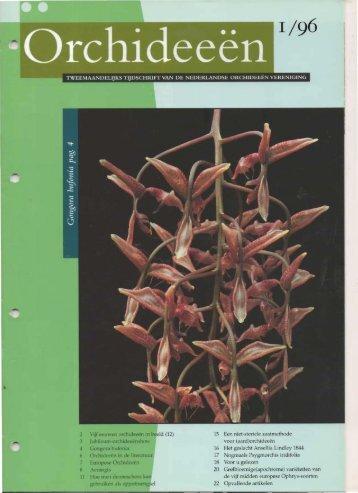 1996 - 1 - Orchideeën Vereniging Vlaanderen