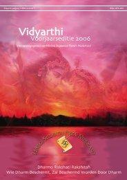 magazine Vidyarthi 2 - Hindoe Studenten Forum Nederland