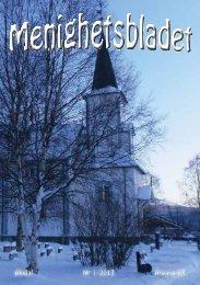 Menighetsblad 1-2013 - Kirken i Alvdal - Den norske kirke