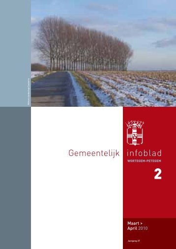 Infoblad nr. 2 : maart-april 2010 - Wortegem-Petegem