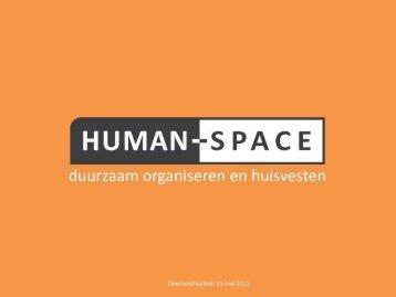 Presentatie - Human Space