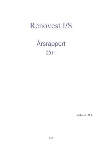 Download regnskab her - Renovest I/S