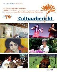 Cultuurbericht - Prins Bernhard Cultuurfonds