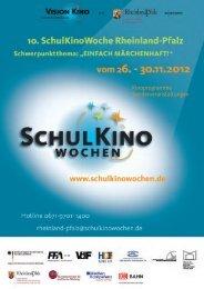 Kinoprogramme Sonderveranstaltungen - Schulkinowoche in ...