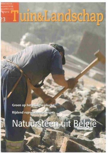 T&L In de groeve van Warche is het werk zwaar 23/2006