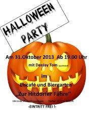 Halloween Party bei Miro