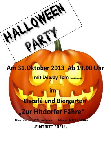 Halloween Party bei Miro