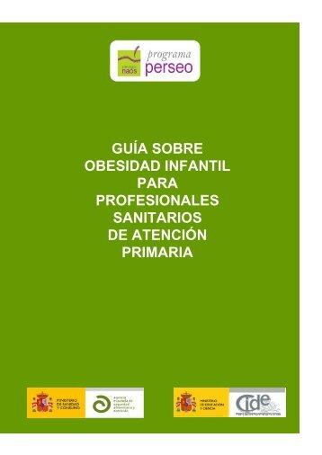 guía obesidad infantil - Agencia Española de Seguridad Alimentaria ...