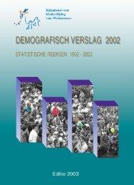 demografisch verslag - 2002 - rkw