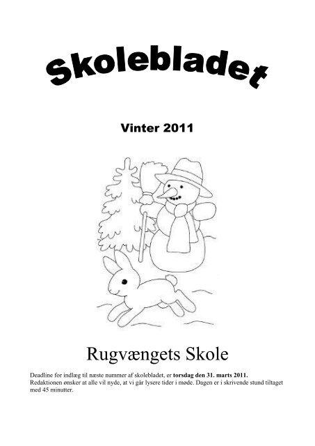 Skoleblad vinter 2010 2011 - Rugvængets Skole
