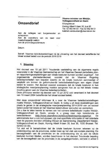 omzendbrief WVG/2012/03 - Vlaanderen.be
