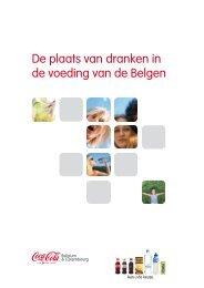 De plaats van dranken in de voeding van de Belgen - Coca Cola