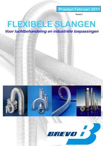 Prijslijst Flexibele Slangen voor ventilatie en afzuiging 01-02-2011