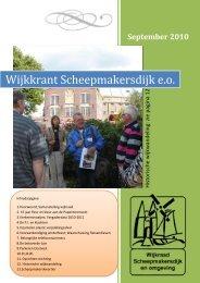 September 2010 - Wijkraad Scheepmakersdijk