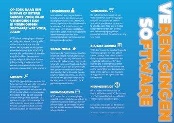 VESO folder - Verenigingen software