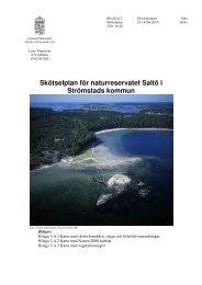 Skötselplan för naturreservatet Saltö i Strömstads ... - Länsstyrelserna