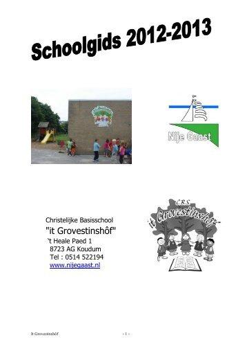 schoolgids 2012-2013 - Nije Gaast