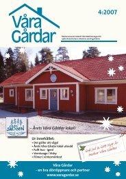 VG nr 4 2007 - Våra Gårdar