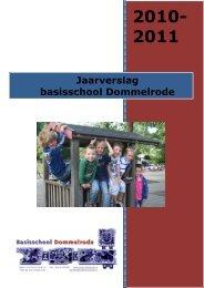 Jaarverslag bs Dommelrode 2010-2011 - Skoso